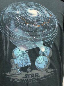 スターウォーズTシャツ  R2D2&BB8